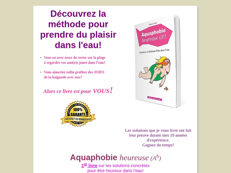 aquaphobie heureuse