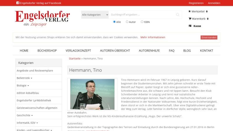 tino-hemmann.de Vorschau, Hemmann, Tino