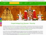 Three Day Tirupati Tour Pack From Chennai