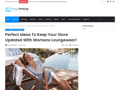 Perfect Ideas To Keep Your Store Updated With Womens Loungewear!