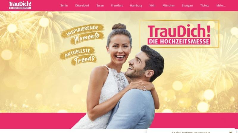 traudich.de Vorschau, Trau Dich Hochzeitsmesse