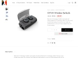 CETUS Wireless Earbuds – 25% Discount – Fathers Day Offer