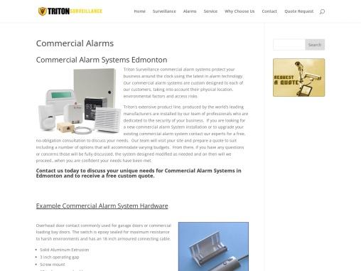 Alarm System Companies Edmonton