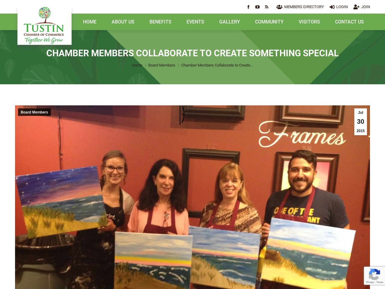 Chamber Members Collaborate to Create Something Special
