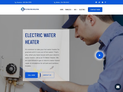 Professional Gas & Electric Water Heater