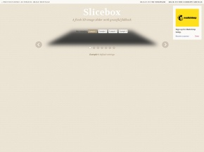 Slicebox – 3D Image Slider