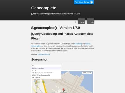Geocomplete