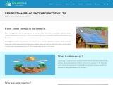 Residential Solar Supplier Baytown TX | Cheap Solar Houston TX