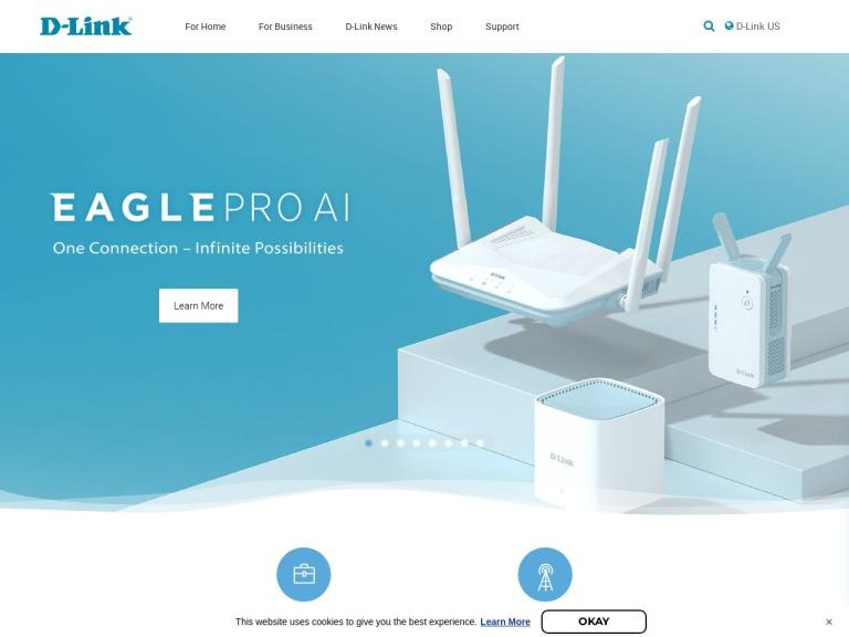 D-Link Promo Code screenshot
