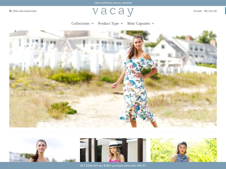 VacayStyle Coupon Codes