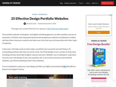 http://vandelaydesign.com/blog/galleries/freelance-portfolios/