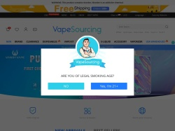 Shenzhen Vapesourcing Electronics Co.,Ltd. screenshot