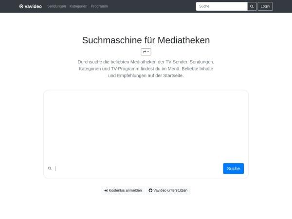 Vavideo.de | Suche und finde Videos