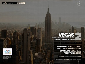 Vegas Background jQuery Plugin