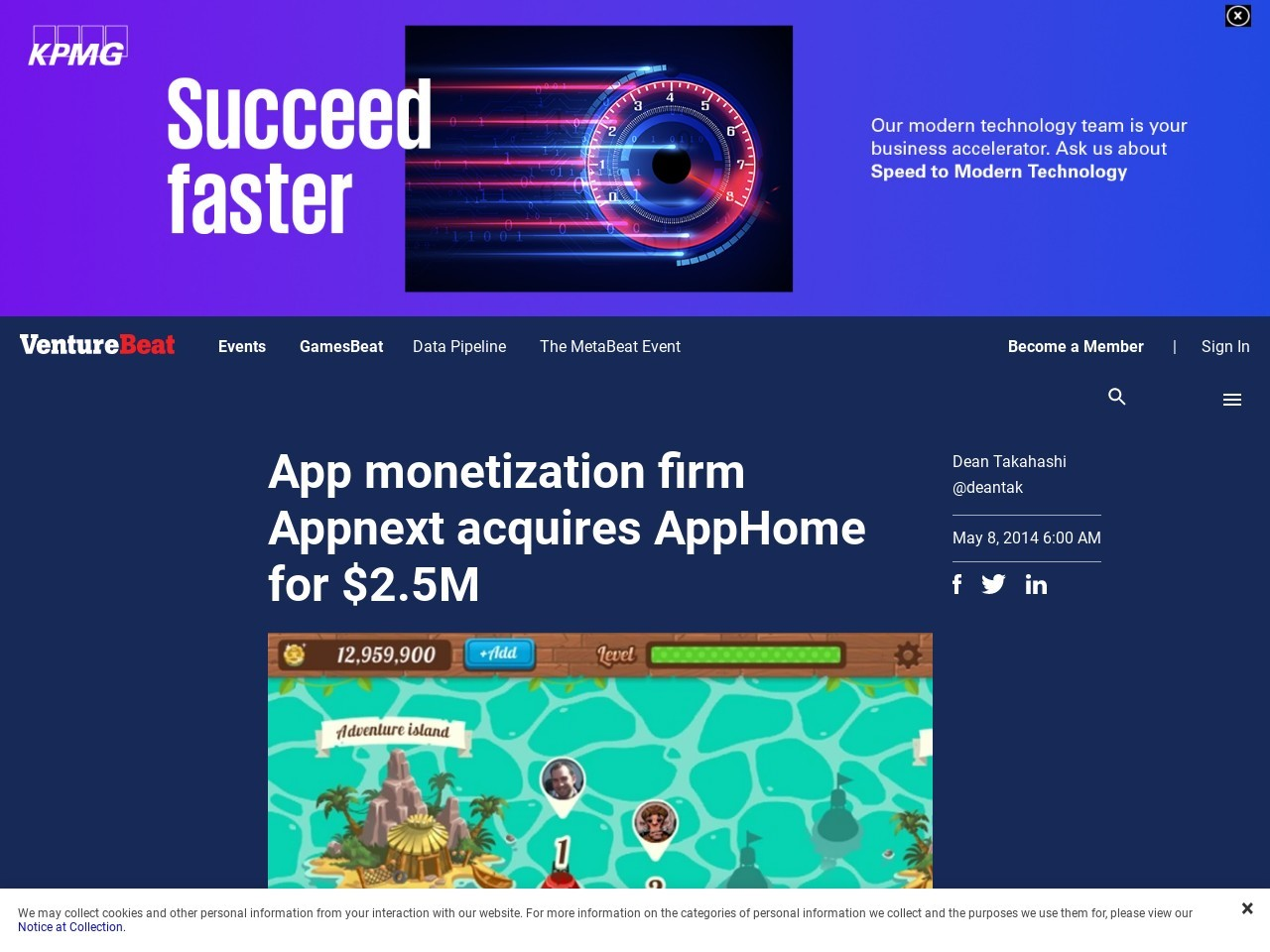 App monetization firm Appnext acquires AppHome for $2.5M