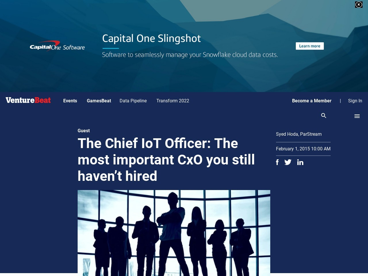 The Chief IoT Officer: The most important CxO you still …