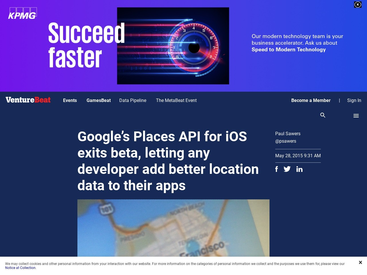 Google's Places API for iOS exits beta, letting any developer …