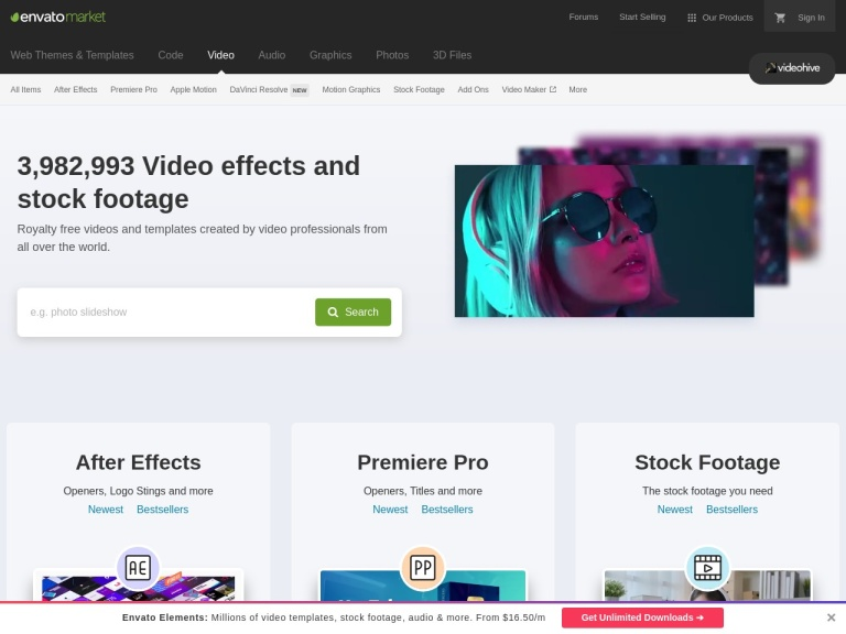 Videohive Coupon Codes screenshot
