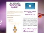 METHODE MEDITATION FACILE - NIVEAU APPRENTISSAGE