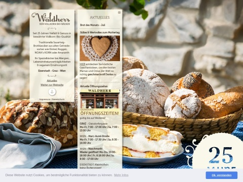 BioVollkorn-Bäckerei Waldherr