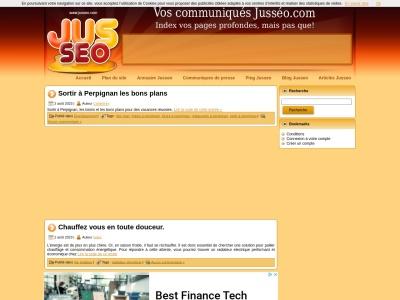 Publication d'article sur jusseo.com