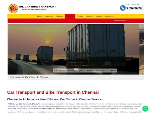 Top Car and Bike Transport in Bangalore