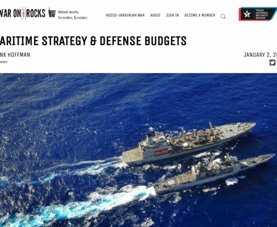 http://warontherocks.com/2014/01/maritime-strategy-defense-budgets/