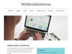 Webbredaktör i Stockholm