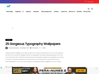 http://webdesignledger.com/freebies/25-gorgeous-typography-wallpapers