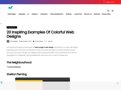http://webdesignledger.com/inspiration/20-inspiring-examples-of-colorful-web-designs#more-97727