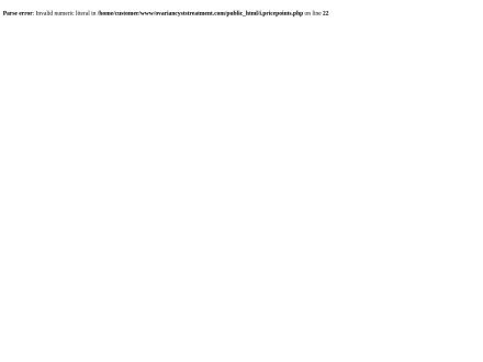 Ovarian Cysts Treatment ~ 75% ~ Contact Us For Affiliate Support