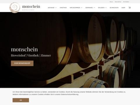 Bio Weinhof MONSCHEIN