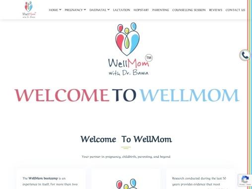 Child Birth classes WellMom Delhi