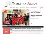 Wesleyan Participates in WEServe Week of Service