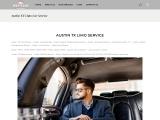 Westlake car service offers premier limousine and Private car