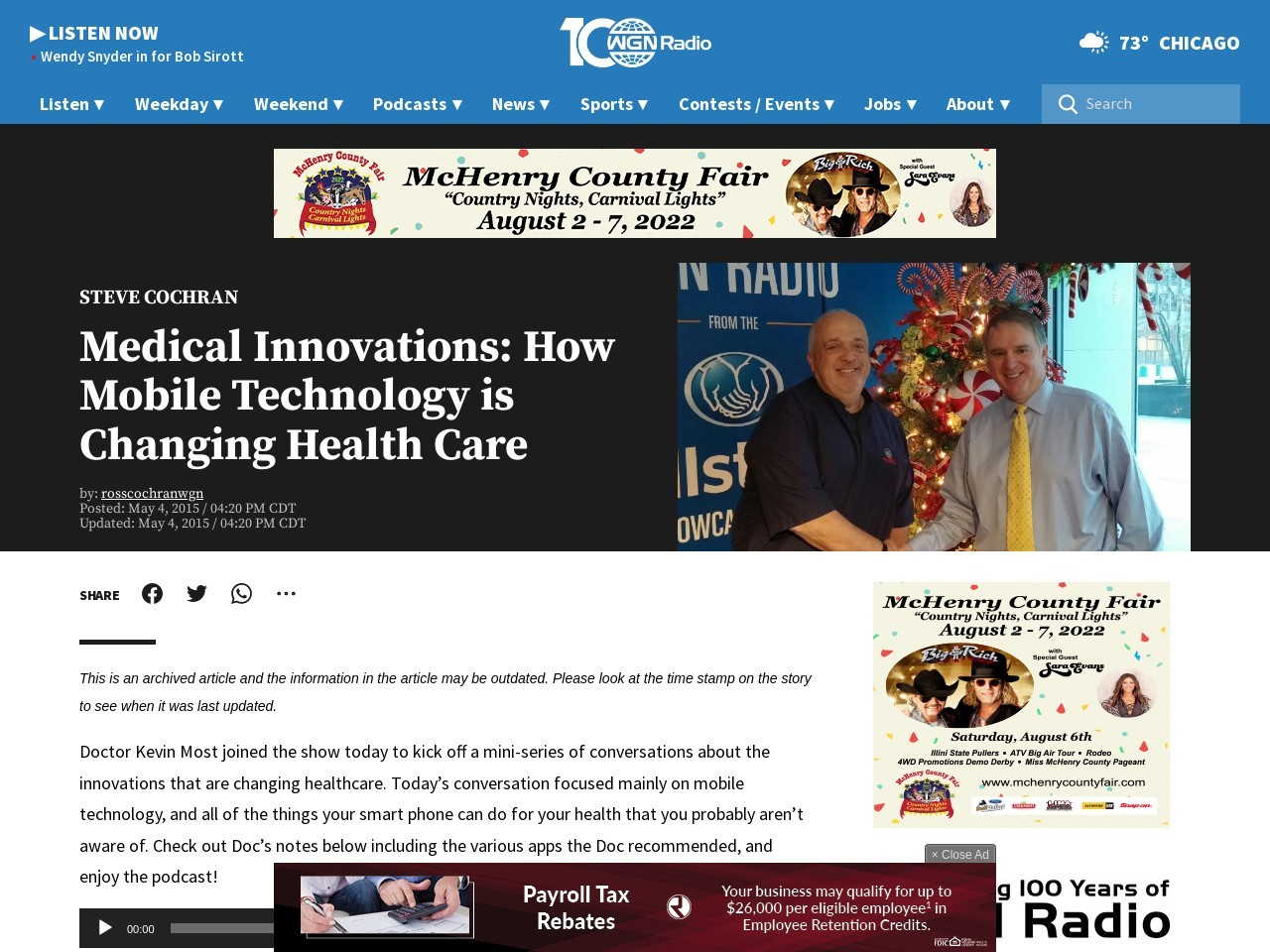 Medical Innovations: How Mobile Technology is Changing …