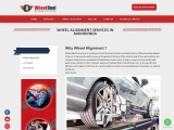 Wheel alignment | Wheel alignment services in manikonda – Wheeldeal