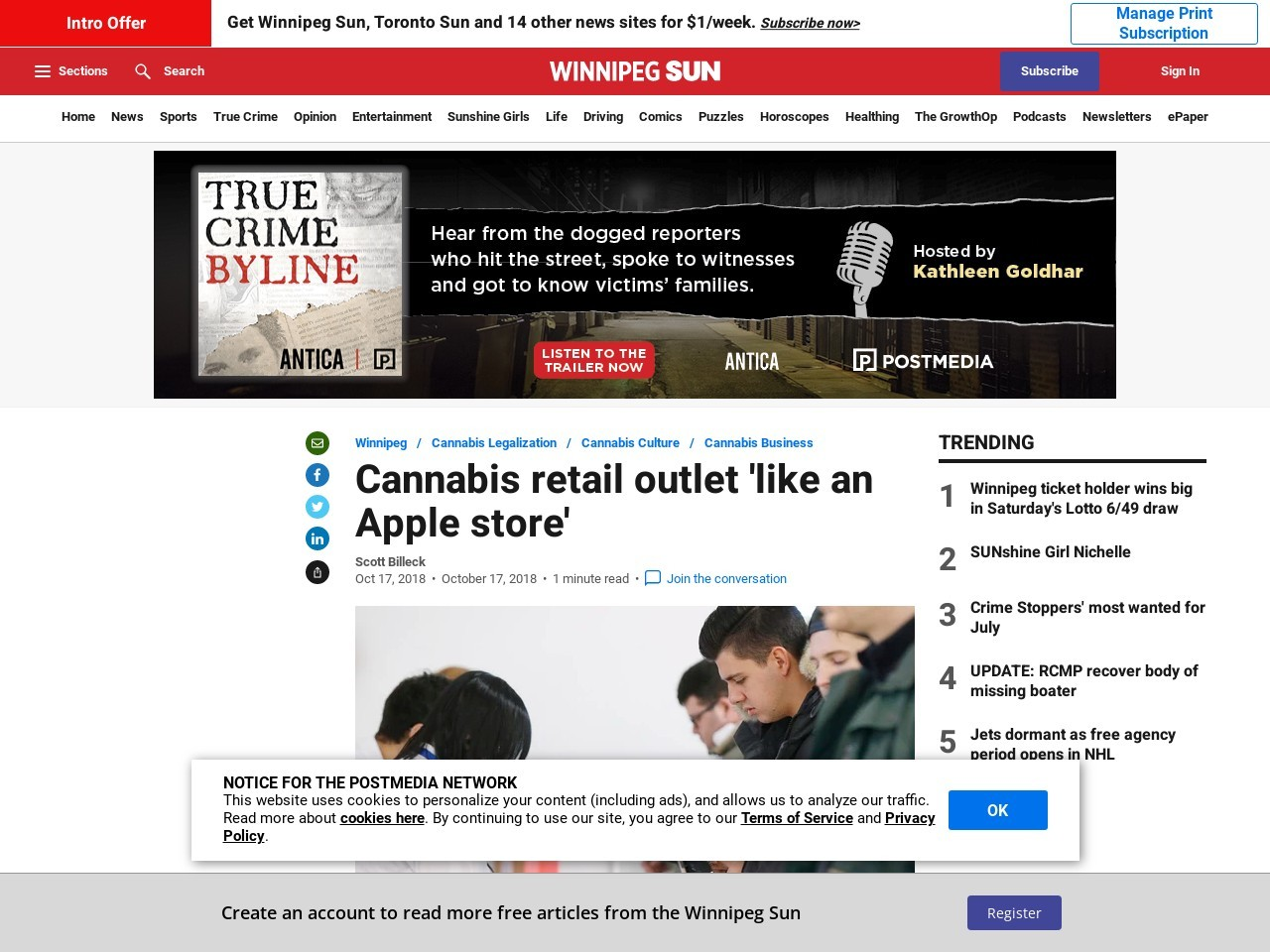 Cannabis retail outlet 'like an Apple store'