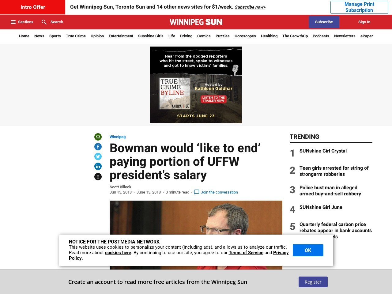 Bowman would 'like to end' paying portion of UFFW president's salary