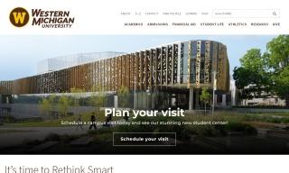 Visit us at wmich.edu