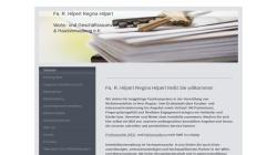 wohnungsmarkt-leipzig.com Vorschau, Fa. R. Hilpert Wohn- und Geschäftsraumvermittlung & Hausverwaltung