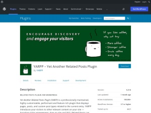http://wordpress.org/extend/plugins/yet-another-related-posts-plugin/