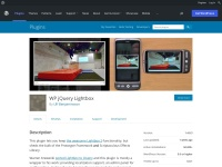 http://wordpress.org/plugins/wp-jquery-lightbox/