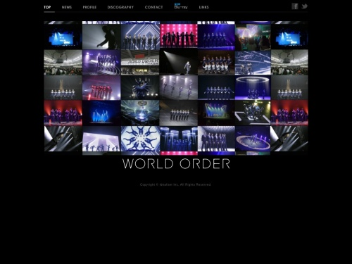 WORLD ORDER オフィシャルサイト