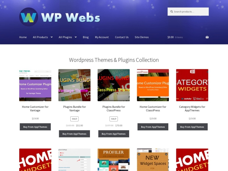 WPWebs Coupon Codes screenshot