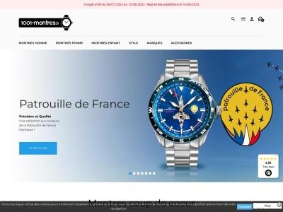 1001-montres.fr : Boutique de montre