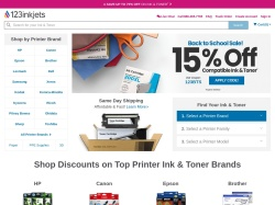 123inkjets.com screenshot