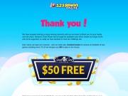 123Bingo Online No deposit Coupon Bonus Code