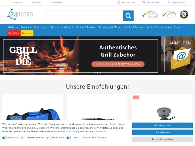 24ocean.de screenshot