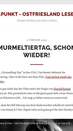 Vorschau der mobilen Webseite www.24punkt.de, Mediengestalter Blog über Werbung und Privates